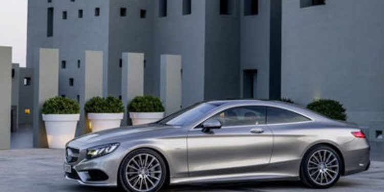 Mercedes Benz nos desvela el Clase S Coupé