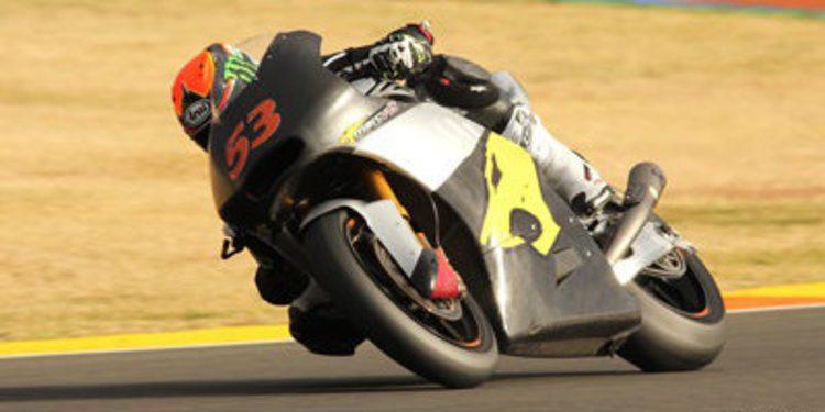 Rabat y Antonelli dominan Moto2 y Moto3 en el segundo día en Valencia