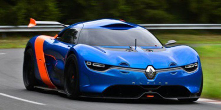 Caterham y Renault retrasan la aparición del Alpine A110-50