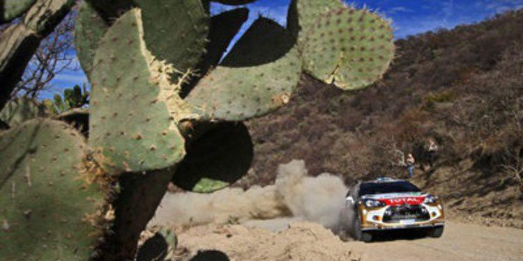 Lista de inscritos del Rally de México del WRC 2014