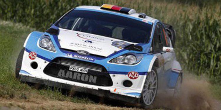 Aaron Burkart podría regresar al WRC