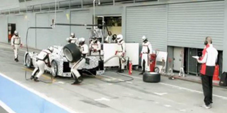 El Arte del Pit Stop, según Porsche Hybrid