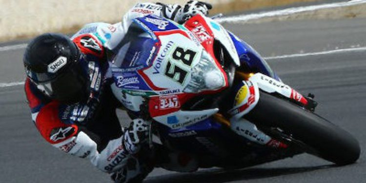 Eugene Laverty brilla en el test WSBK en Phillip Island