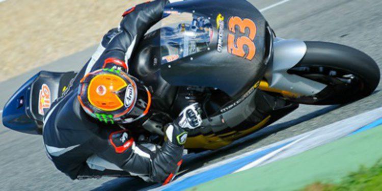 Rabat en Moto2 y Miller en Moto3 comienzan destacando en Jerez