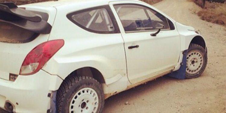 Arrancan los test previos al Rally de México en España