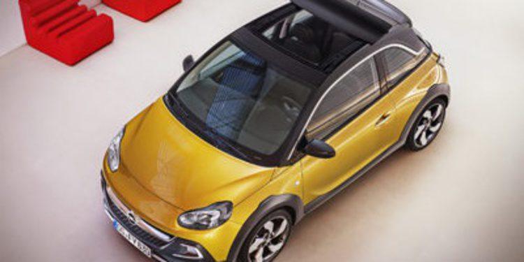 Primeras fotos publicadas del Opel ADAM Rocks