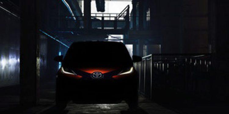 Toyota descubre pinceladas del Aygo