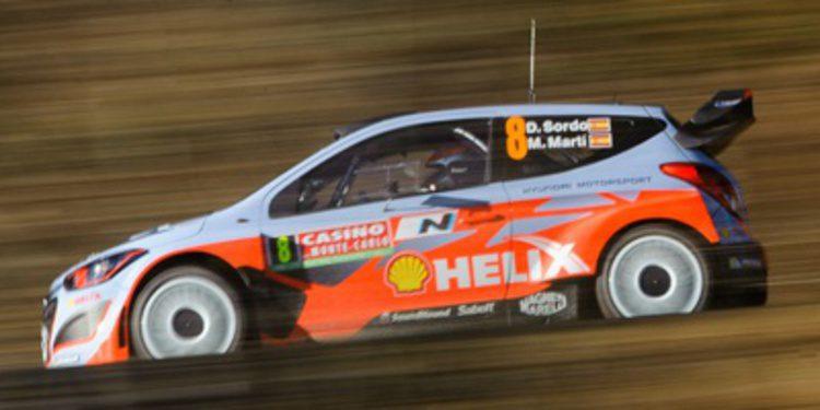Dani Sordo en el tercer Hyundai i20 WRC en Portugal