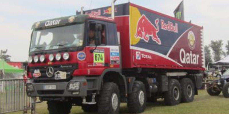 Un camión del Epsilon Team implicado en tráfico de drogas