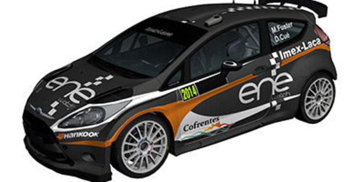 Miguel Fuster se decanta por el Ford Fiesta R5 para el CERA