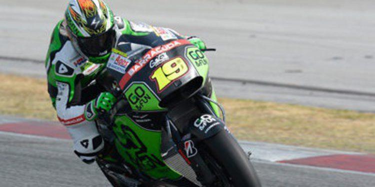 Álvaro Bautista al frente del primer día de test MotoGP en Sepang