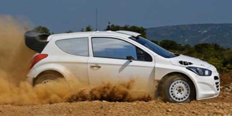 Test irregulares del Hyundai i20 WRC en Portugal