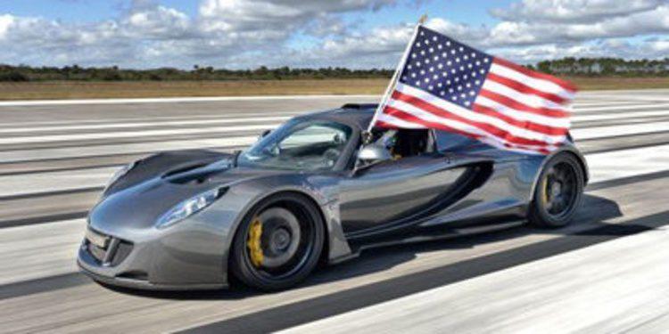 El Hennessey Venom GT consigue rodar a 435,3 km/h