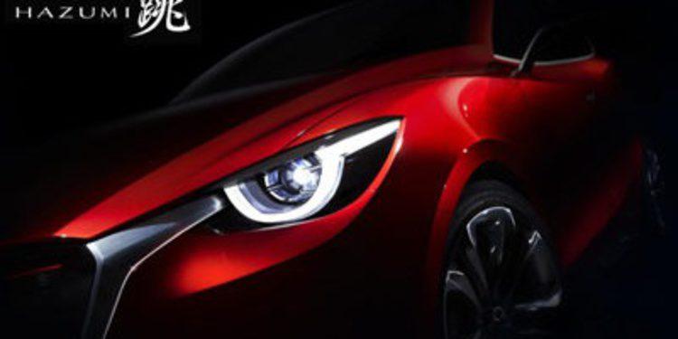 El adelanto del Mazda 2 en Ginebra se llama Hazumi