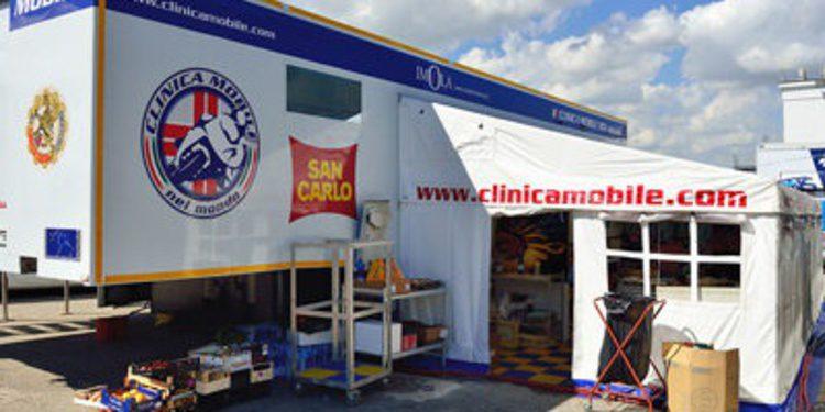 Mejoras importantes en la Clinica Mobile de MotoGP