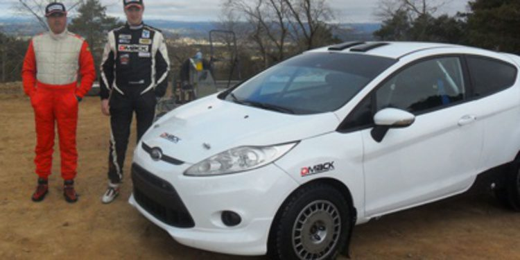 Jari Ketomaa prueba los DMACK en el Fiesta R2