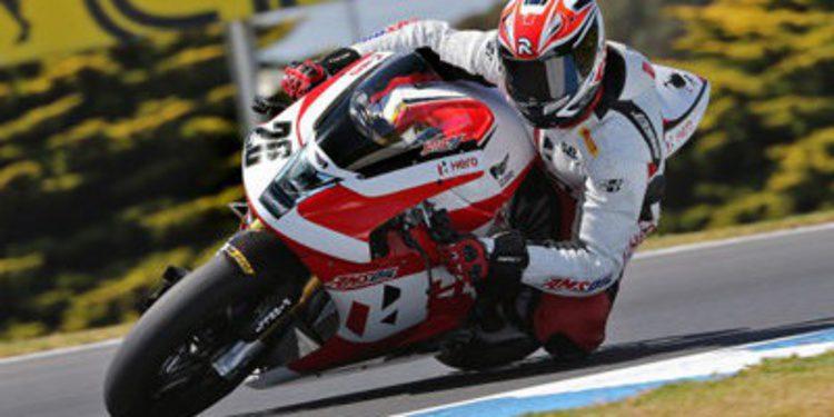 Consistente debut de EBR en el Mundial de Superbikes