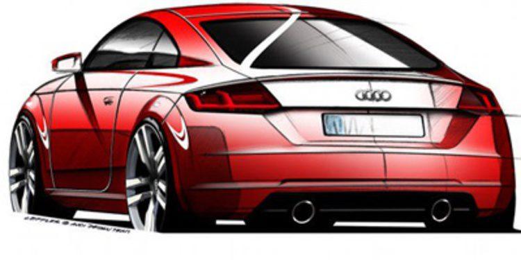 Audi sigue mostrando 'pildoritas' del nuevo TT