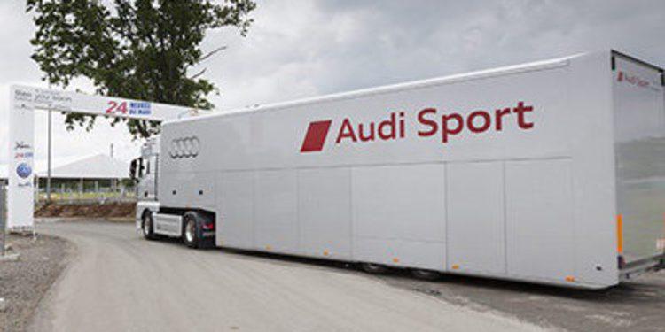 El viaje logístico de Audi alrededor del mundo