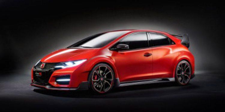 Honda desata al Civic más salvaje con el Type-R Concept