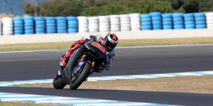 Segundo día del test MotoGP en Phillip Island en palabras