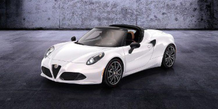 Alfa Romeo 4C Spider, pierde el techo y gana belleza