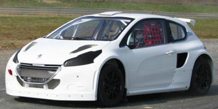 Peugeot-Oreca regresa al mundo del rallycross