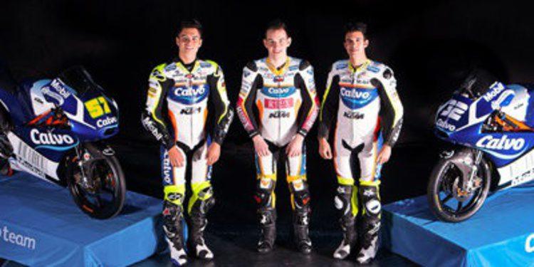 El Calvo Team Moto3 también se presenta en Madrid