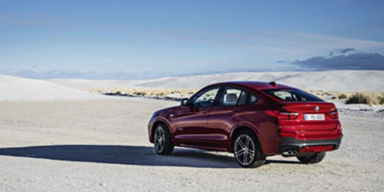 BMW nos presenta el nuevo X4: Sports Activity Coupé