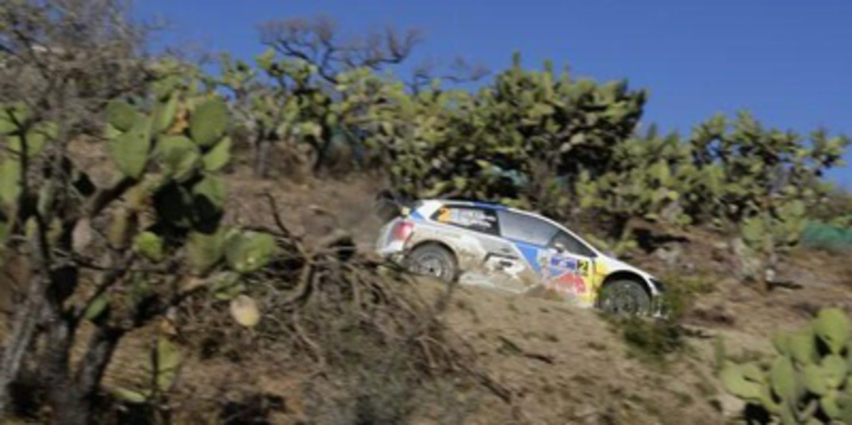 Jari-Matti Latvala al mando en el shakedown del Rally de México