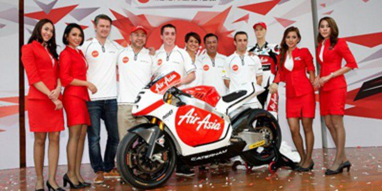 Caterham Moto Racing se asocia con AirAsia en Moto2