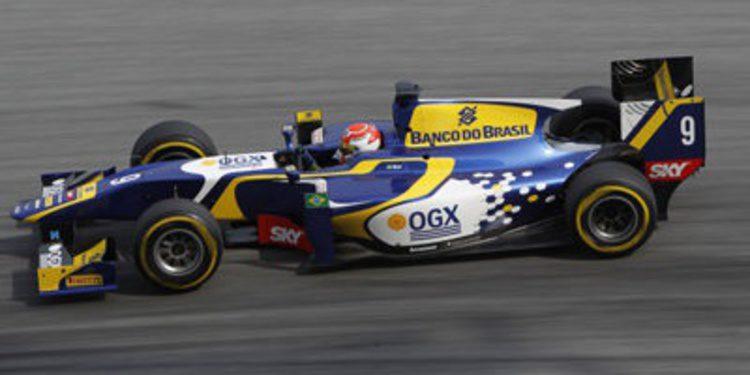 Felipe Nasr continúa con Carlin en GP2 para 2014