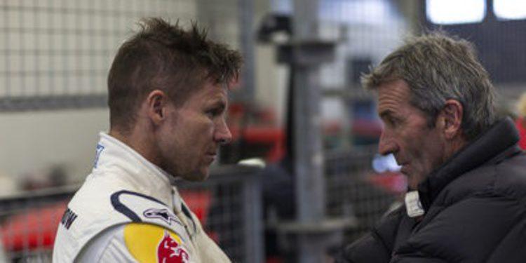 Felix Baumgartner con un Audi R8 LMS en las 24h de Nürburgring