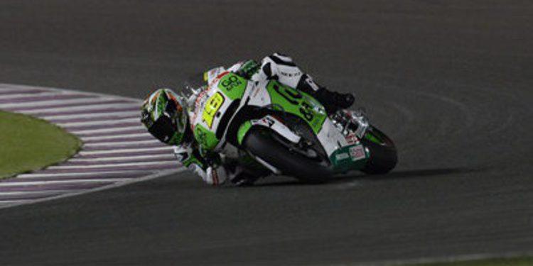 Álvaro Bautista toma el relevo en el test MotoGP de Losail