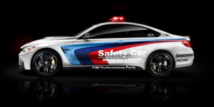 El BMW M4 Coupé pasa a ser el safety car de MotoGP