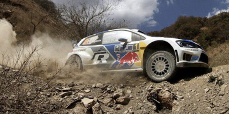 Sebastien Ogier roza el Rally de México y Thierry Neuville el podio