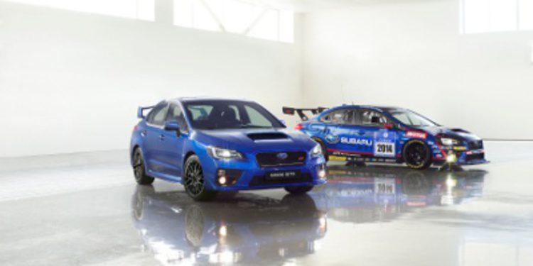 La flota de Subaru en el Salón de Ginebra 2014