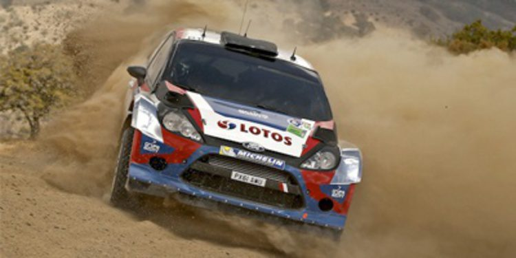 Robert Kubica analiza un pésimo Rally de México