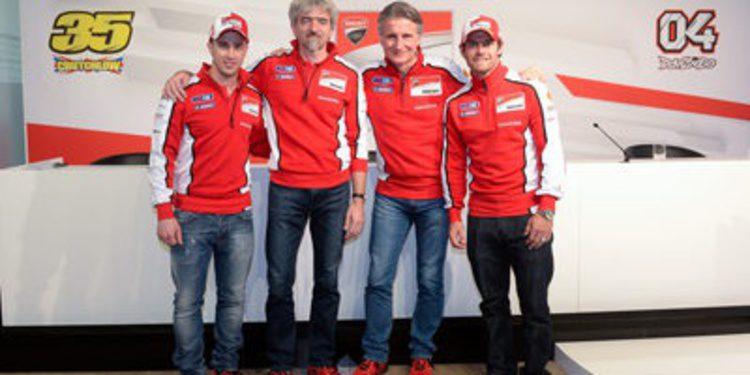 Ducati presenta su proyecto de MotoGP en Múnich