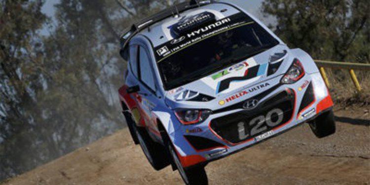 El primer podio de Hyundai Motorsport en el WRC