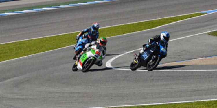 Nakagami en Moto2 y Fenati en Moto3 estrenan el test de Jerez