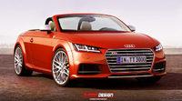 Conoce en render el aspecto del Audi TT Spider