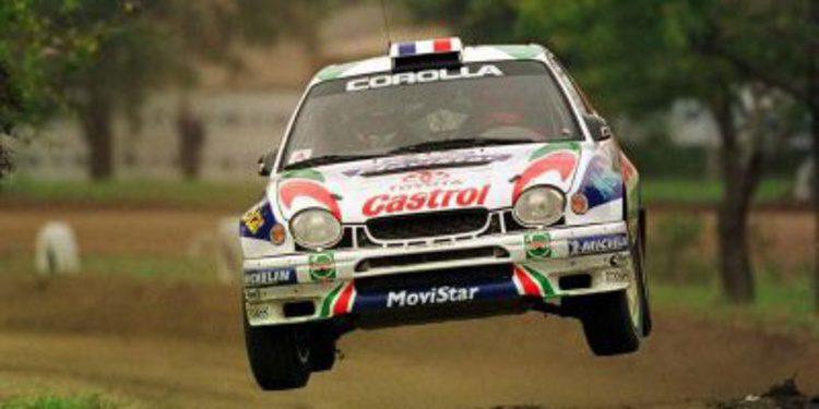 Didier Auriol en el Rally Islas Canarias