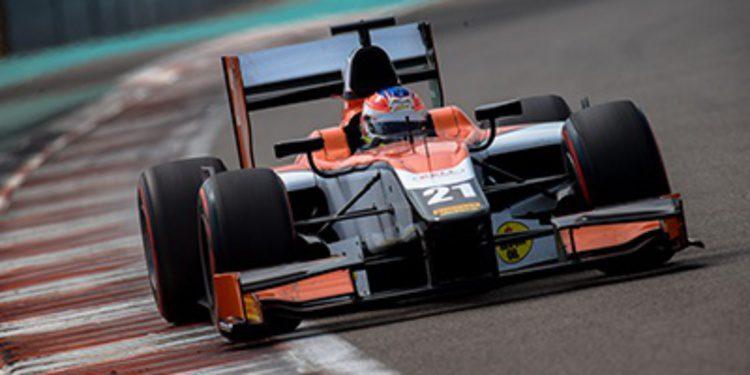 Jon Lancaster cierra la primera semana de tests GP2 al frente