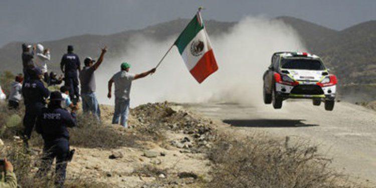 Benito Guerra trabaja para estar en el Rally de Argentina