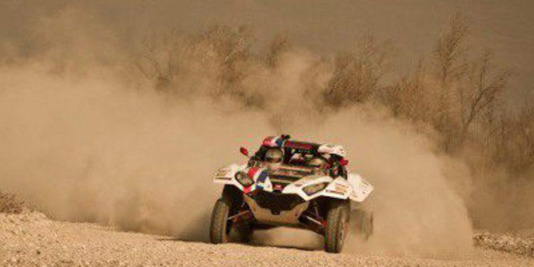 Marek Dabrowski se adjudica la primera etapa de la Baja Italia en coches