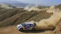 En Volkswagen resoplan por Andreas Mikkelsen