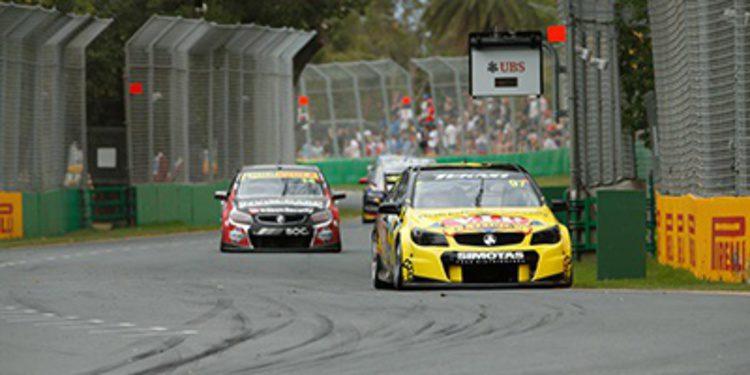 AGP: Shane Van Gisbergen gana la tercera carrera de los V8 Supercars