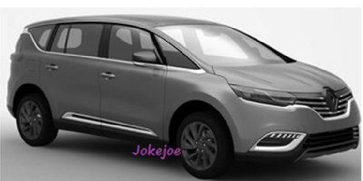 Filtrada la nueva generación del Renault Espace