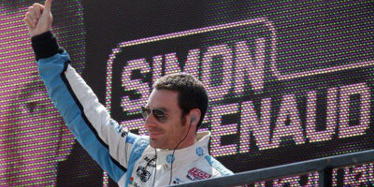 Simon Pagenaud y sus on board en distintos vehículos